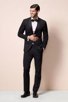 Classic black tux: http://www.stylemepretty.com/lookbook/designer/bonobos/ #SMPLookBook
