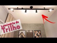 DIY - LUMINÁRIA DE TRILHO POR MENOS DE 100 REAIS | DECORAÇÃO DO QUARTO DE CASAL PEQUENO PARTE 9 - YouTube