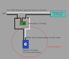 Electrical Would This Be The Correct Way To Add A Timer Switch In with regard to proportions 1195 X 1024 Master Flow Attic Fan Thermostat Wiring Diagram - Attic Vents, Wire Switch, Attic Fan, Bathroom Exhaust Fan, Electrical Wiring Diagram, House Fan, Electric Fan, Exhausted, Solar Power