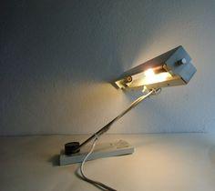 Lampe - Industriedesign 60er Jahre - DDR von MaDütt auf DaWanda.com