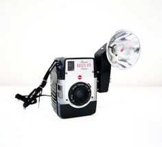 50s Kodak Brownie Bulls Eye, 620 film type vintage camera w Kodalite flasholder♥♥♥
