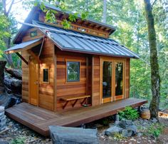Woodland retreat Garden Shed