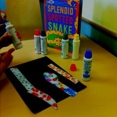 S-blends fun!  Read The Splendid Spotted Snake by Schwartz and Wilensky followed by spotted snake activity using dot markers and snake page from Easy Does it for Apraxia Preschool by Strode and Chamberlain (Linguisystems). Many opportunities for s-blend word practice!