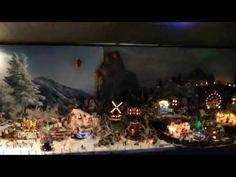 Lemax Christmas Village Displays - Gorgeous Winter Display - YouTube