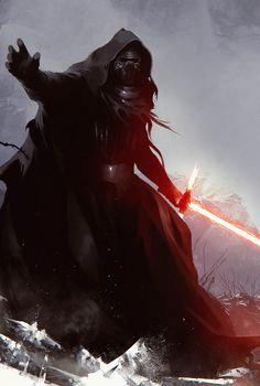 Kylo Ren from Star Wars: The Force Awakens. By... | Cinema Gorgeous
