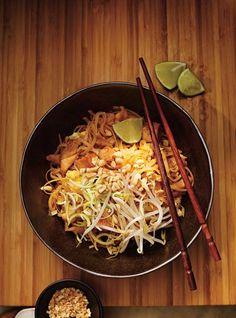 Pad thaï (le meilleur) - le faire au tofu