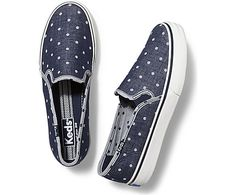 Keds DOUBLE DECKER CHAMBRAY DOT