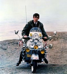 QUADROPHENIA (Franc Roddam, 1979) At the end of this homage to the underbelly of Sixties seaside Britain, Jimmy the Mod (a mercurial Phil Daniels) sends his scooter over the edge of Beachy Head. It's a rejection of his ideals and a sign that the callow youth has become a man.