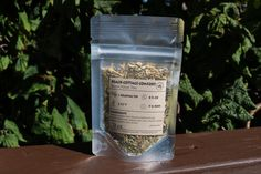 Organic Herbal Tea: Sample Pouch - Beach Cottage Comfort Handcrafted Small Batch Artisan Loose Leaf Washington made by BeachHouseTeas on Etsy