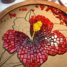 Stone Mosaic, Mosaic Glass, Mosaic Tiles, Glass Art, Mosaic Crafts, Mosaic Projects, Mosaic Designs, Mosaic Patterns, Glass Painting Patterns