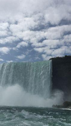 Close up, Niagara Falls - Amazing to be so close to Niagara Falls Ontario Canada – ange-s 2018 Amazing to be so close to Ni - Beautiful Photos Of Nature, Beautiful Places To Travel, Nature Pictures, Amazing Nature, Beautiful Landscapes, Beautiful Things, Niagara Waterfall, Niagara Falls Pictures, Natur Wallpaper