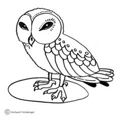 Wise Little Owl Coloring Page From Owls Category Select 28148 Printable Crafts Of Cartoons Nature Animals Bible And Many More
