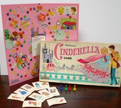 1965 Cinderella Board Game - one of my all time favorites
