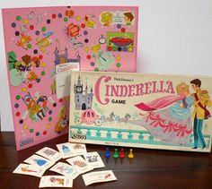 1965 Cinderella Board Game