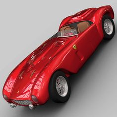 Ferrari 375 Le Mans Car 3d Model, Premium Cars, Pick One, Le Mans, Hot Cars, Motor Car, Exotic Cars, Vintage Cars, Ferrari