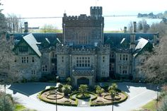 Hatley Castle and Gardens, used in the x-men movies, tv shows smallville and the new show Arrow.