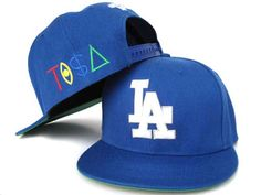 Tisa Snapback Hats Los Angeles Dodgers Blue