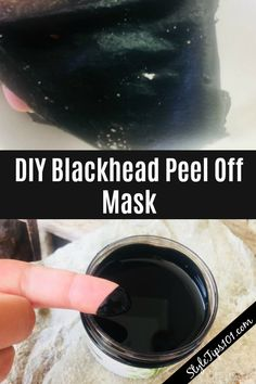 Blackhead Peel Off Mask For All Skin Types Made with natural ingredients, this DIY blackhead peel off mask works WONDERS!Made with natural ingredients, this DIY blackhead peel off mask works WONDERS! Homemade Face Masks, Diy Face Mask, Charcoal Face Mask Diy, Honey Face Mask, Activated Charcoal Mask, Charcoal Peel Off Mask, Diy Peel Off Mask, Homemade Peel Off Mask, Face Mask Peel Off