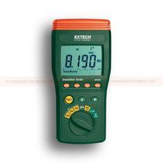 http://termometer.dk/elektrisk-testvarktoj-r12676/isolering-tester-digital-53-380363-r12732  Isolering tester, digital  1000V, 500V, 250V prøvespænding  Måling isolationsmodstand op til 10Gohm  Stort LCD-display med analog søjlediagram  Lo Ohm-funktion til test tilslutninger  Auto-udledning af kapacitive spændinger afgifter  AC / DC spændingsmåling op til 999V  Manuel dataregistrering og Læs funktion (9 sæt)  Direkte kredsløb viser advarselsbrummeren Garanti: 2 År