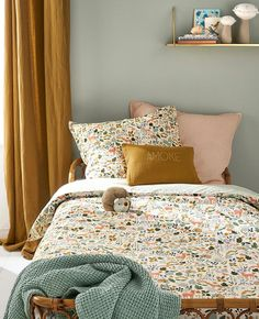Cotton duvet cover quotEnchanted Forestquot printed white Home Clothing and . Cotton duvet cover quotEnchanted Forestquot printed white Home Clothing and decor Cyrillus Casa Kids, Kids Room Design, Little Girl Rooms, New Room, Girls Bedroom, Bedroom Ideas, Bedroom Designs, Master Bedrooms, Master Suite