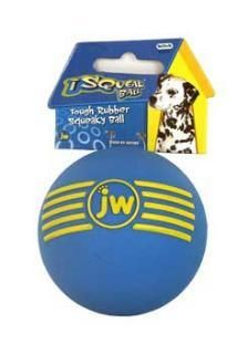 JW Pet Company iSqueak Ball Medium Dog Toy
