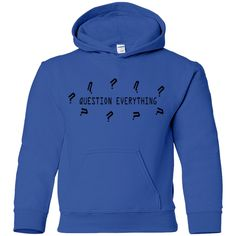 Question Everything Hoodie (youth)