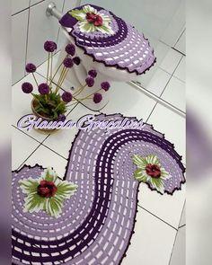juego de baño espiral Diy Crochet Poncho, Crochet Bunny, Crochet Designs, Crochet Patterns, Owl Bathroom, Michaels Craft, Simply Crochet, Crochet Home Decor, Halloween Crochet