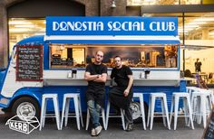 Donostia Social Club, Pinxtos. Citroën Hy food truck