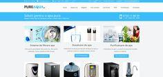 Magazin online filtre si purificatoare de apa  www.pureaqua.ro