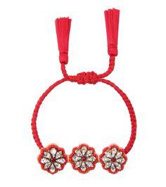 シュローク/Shourouk - Athna Bracelet Flower-RED(ブレスレット/bracelet)   RESTIR リステア