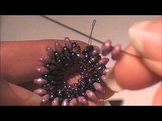Tutorial: ciondolo Pentalux / Pentalux pendant (Superduo/Twin beads work)