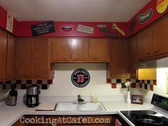 Pretty neat kitchen. Makes me think they had a store that went under though. lol
