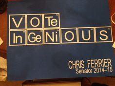 Student Council Poster idea. Student council election.