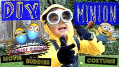 How to make a MINION costume. DIY Cute, best Halloween Costume.    Hi Everyone! Have you seen Pierce's new DIY (Do-It-Yourself) video? We had fun making it! MINION MANIA: DIY Minions Costume and Minions Movie Buddies. Can never have too much bananas or Minions!  Please LIKE, SHARE, and SUBSCRIBE.
