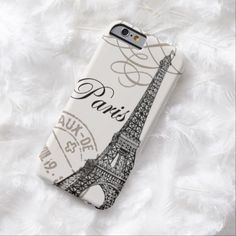 Cute iPhone 6 Case! This Vintage Paris...iPhone 6 case can be personalized or purchased as is to protect your iPhone 6 in Style!