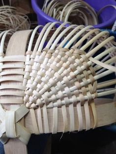 Turn backs, packing, filling, three different terms for the same technique. A way to even out the corners in a rib constructed basket so a straight line of wea