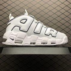 a5a7e35bfe Nike Air More Uptempo White Black Yellow Basketball Shoes-4 Nike Air Uptempo,  New