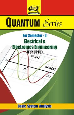 Quantum series offers ‪Basic‬ ‪System‬ ‪Analysis‬ ‪books‬ for getting higher percentage in ‪UPTU‬ exam. for ‪Electrical‬ & ‪Electronics‬ ‪Engineering‬ ‪Students‬.