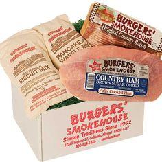 Smokehouse Breakfast #gift #breakfast #BurgersSmokehouse Gourmet Food Gifts, Gourmet Recipes, Burgers
