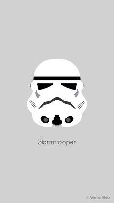 Star wars vector illustration ©Marion Blanc
