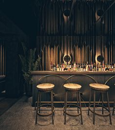 """This is a concept for a restaurant/social area. """"Myrkvi"""" is the Icelandic word for eclipse. Architecture Restaurant, Commercial Architecture, Interior Architecture, Restaurant Lounge, Bar Lounge, Restaurant Design, Tropic Bar, Club Design, House Design"""