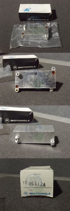 Filters: Nos Motorola Tfd6112a Vhf Micor Band Pass Filter For Repeater -> BUY IT NOW ONLY: $32.26 on eBay!