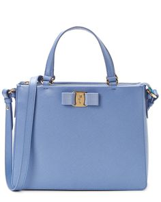 Salvatore Ferragamo  Tracy Leather Top Handle Bag  is on Rue. Shop it now......