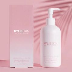 Kylie Jenner's New Body Line Contains the Coolest New Sunscreen - Makeup Looks Classic Kylie Jenner News, Kylie Cosmetic, Body Lotions, Good Skin, Sunscreen, Shea Butter, Body Care, Moisturizer, Makeup Tips