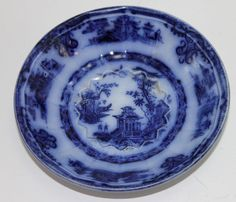 Flow Blue: History and Value of Blue-and-White Antique China ...