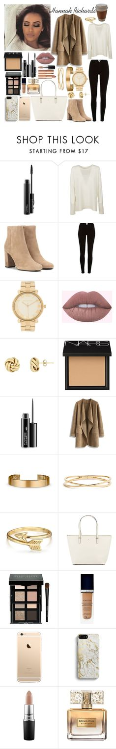 """""""Hannah Richards"""" by athira-deepthi ❤ liked on Polyvore featuring MAC Cosmetics, Michael Kors, Yves Saint Laurent, River Island, NARS Cosmetics, Chicwish, Le Gramme, Nadri, Bling Jewelry and Kate Spade"""