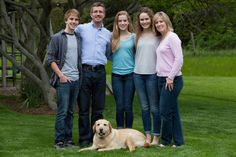 Family Portrait, with dog! » Kat Clark