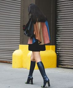 The Most Authentically Inspiring Street Style From New York #refinery29  http://www.refinery29.com/2015/09/93788/ny-fashion-week-spring-2016-street-style-pictures#slide-35  A boot worth a double-take....