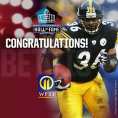 4f59637e7 Jerome Bettis elected into the Pro Football Hall of Fame 2015 - a long  overdue congrats to a great Steelers running back !