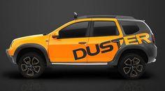 O Duster Detour Concept foi desenhado pela equipe de design da Europa, seguindo a nova linha de design da marca.